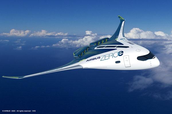 Hydrogen-Powered Aircraft